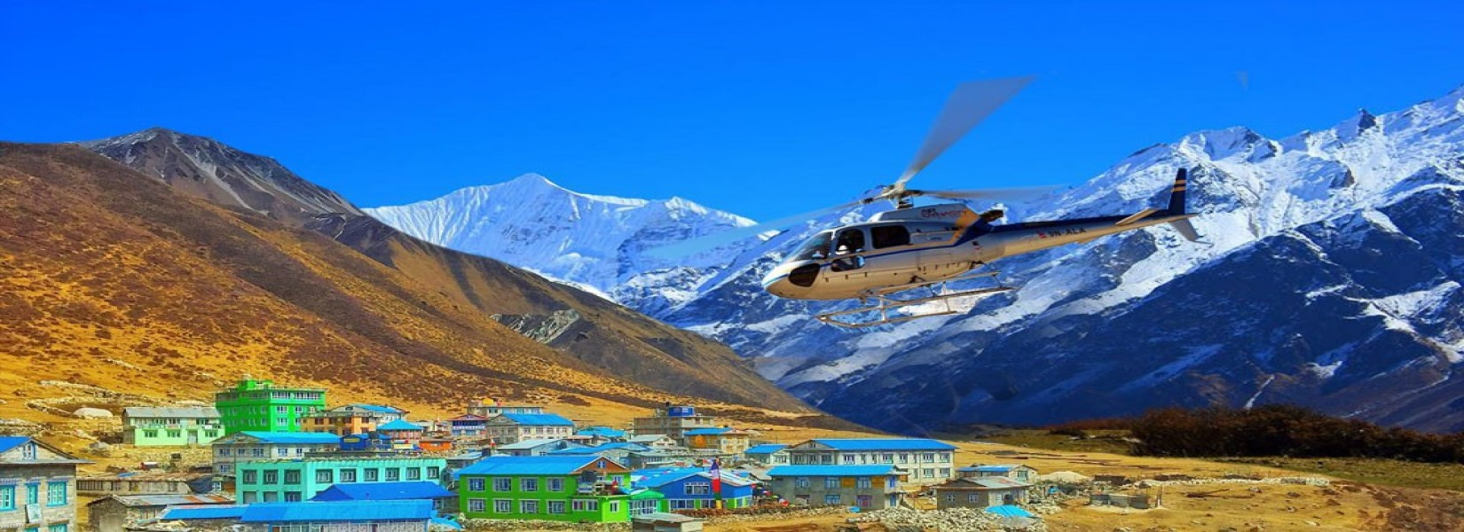 Lang Tang Valley Helicopter Tour