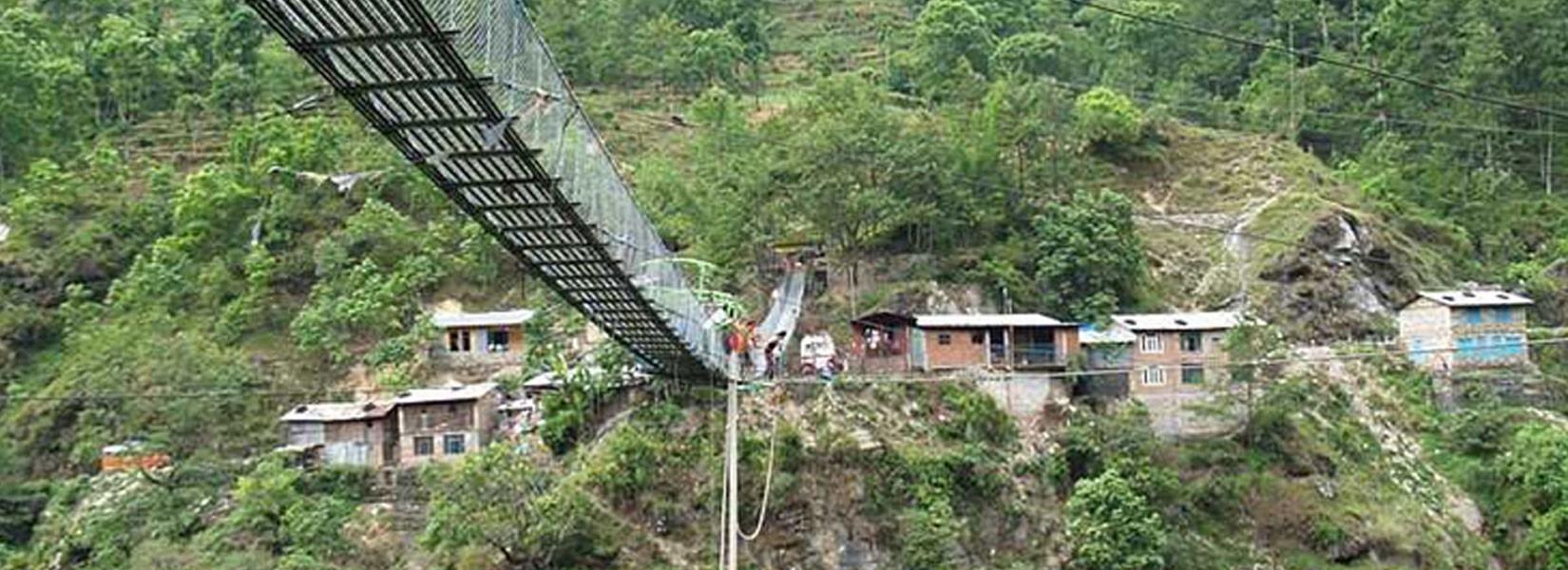 Nepal  Bungee Jumping