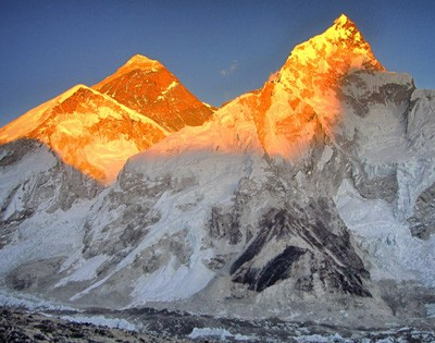 Sunrise in Everest Base Camp