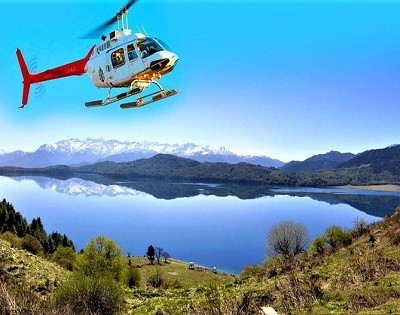 Helicopter Tour Rara lake